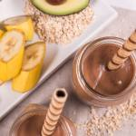Avocado, Banana and Oat Smoothie