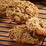 Biscuits Champêtres aux graines de lin avec flocons d'avoine