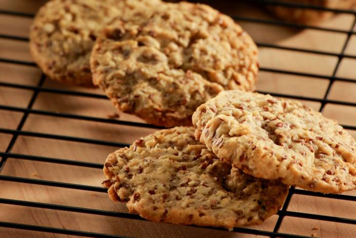 Farmland Flax Cookies with Rolled Oats