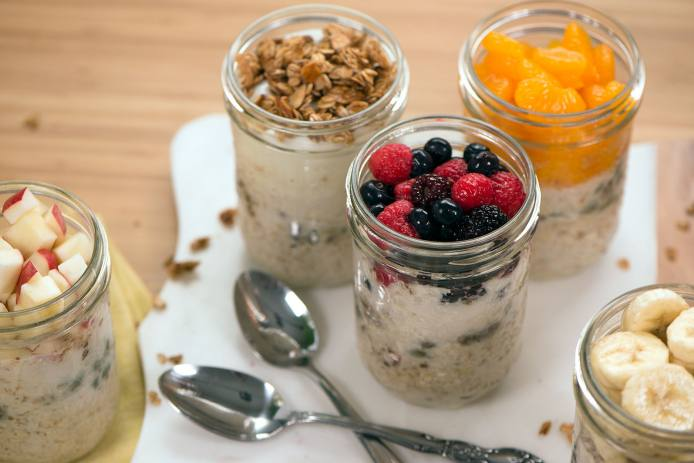 Monday to Friday Overnight Oats