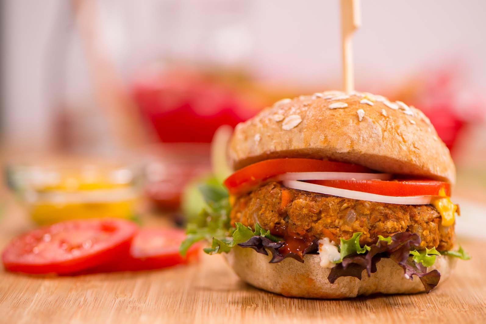 Bbq Bean Amp Oat Burgers Oats Everyday