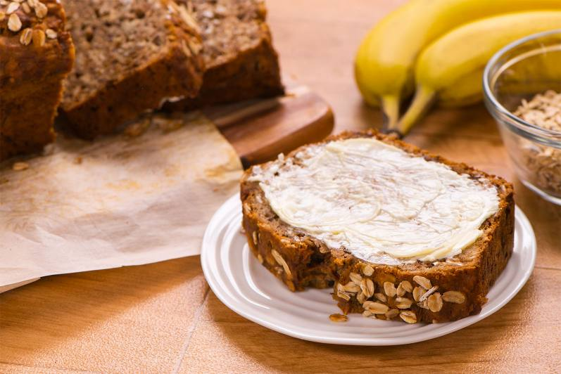 Banana Oat Bread