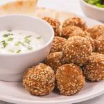 Falafels made with oat flour