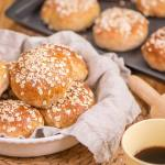 Honey Oat Buns