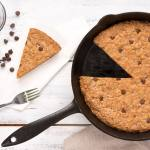 Biscuit de poêle à l'avoine et pépites de chocolat