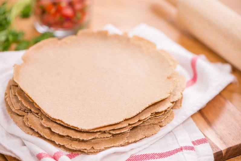 Oat Tortillas