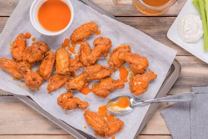 Buffalo Wings (with Oat Flour)
