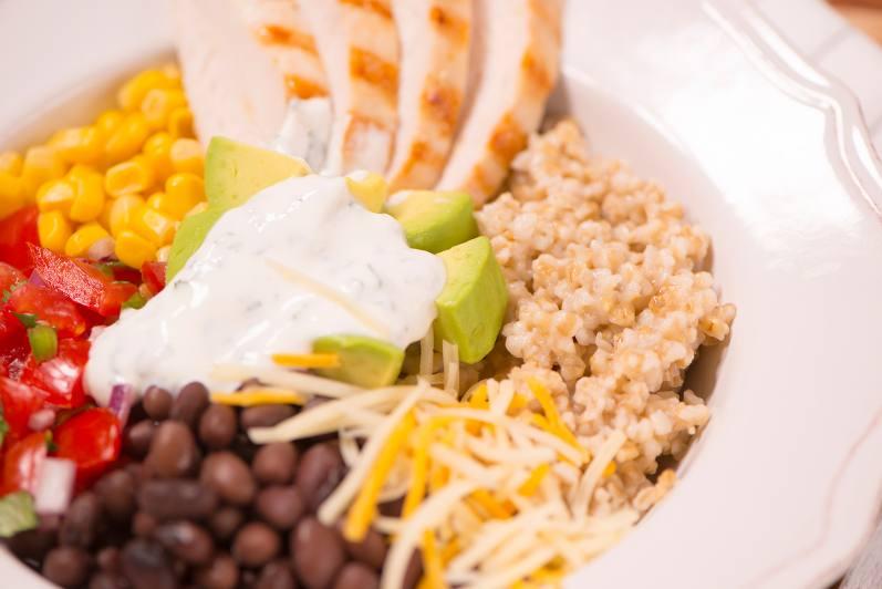Oat Burrito Bowls