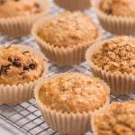 Muffins d'avoine (de trois façons)