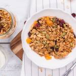 Olive Oil Granola with Oats
