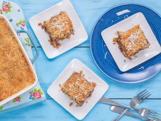 Our Favorite Oatmeal Cake