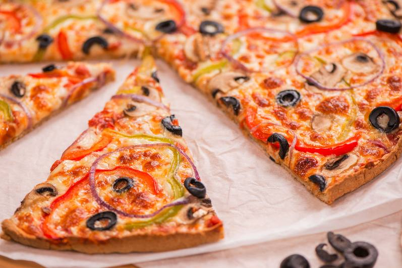 Pizza (croûte d'avoine sans gluten)
