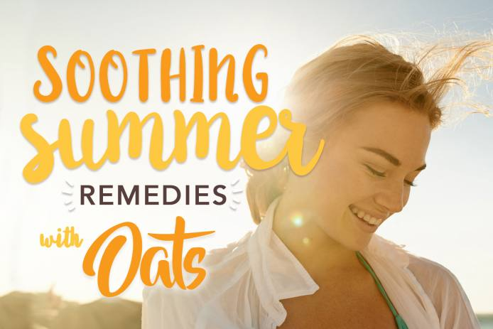 Soothing Summer Remedies with Oats