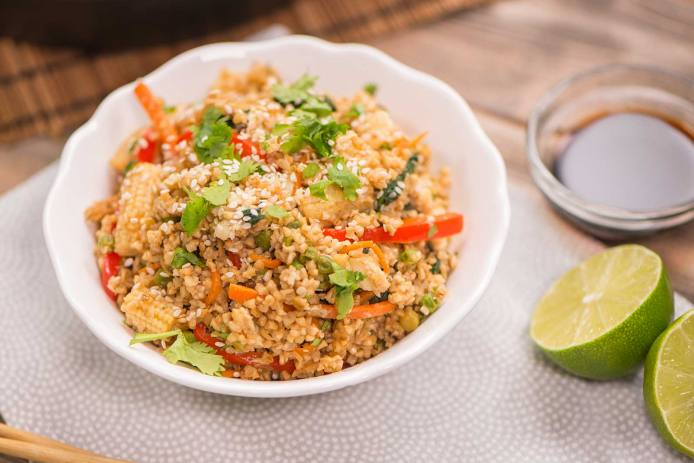 Stir-Fried Veggies With Oats